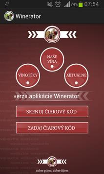 Winerator poster