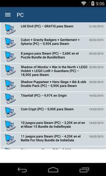 Ofertas de videojuegos screenshot 4