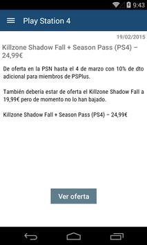 Ofertas de videojuegos screenshot 2