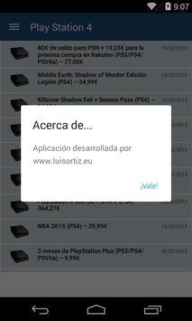Ofertas de videojuegos screenshot 3