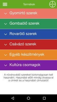 GazdaInfo Bayer Termékkat. screenshot 1