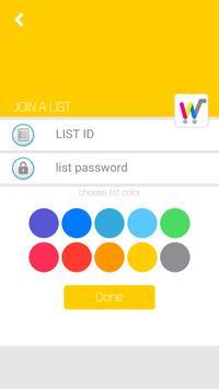 E-List apk screenshot