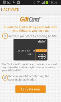 GiftCard Mobile apk screenshot