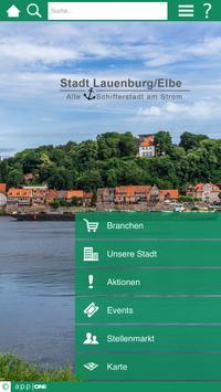 Lauenburg app ONE poster