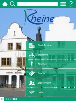 Rheine app ONE screenshot 4