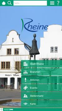 Rheine app ONE poster