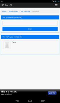 QR Share apk screenshot