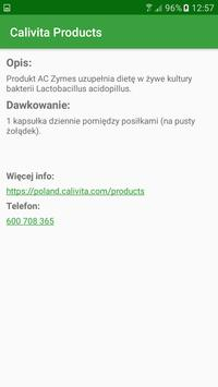Calivita Products screenshot 1