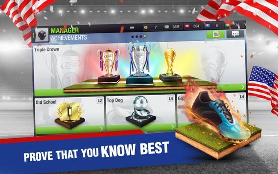 Top Eleven 2018 - Футбольный Менеджер скриншот приложения