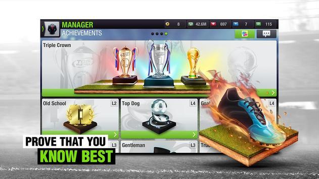 Top Eleven 2018 - Be a Football Manager apk screenshot