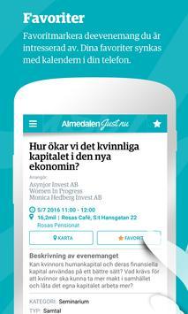 Almedalen Just Nu apk screenshot