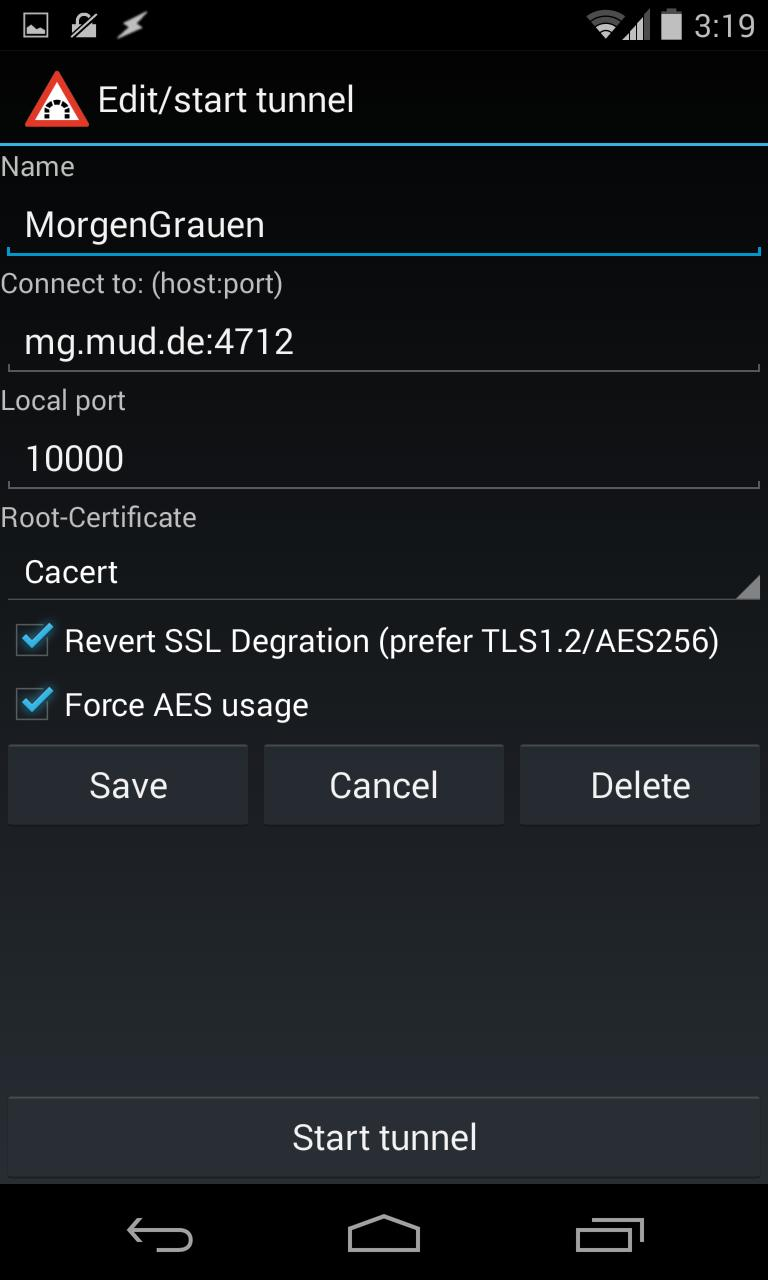 TLS/SSL Tunnel for Android - APK Download