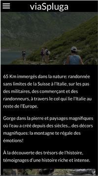 viaSpluga Francais screenshot 1