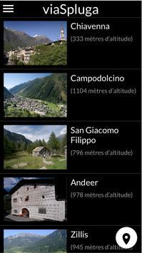 viaSpluga Francais screenshot 2