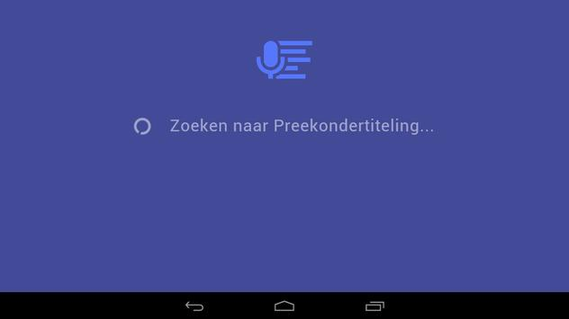 Preekondertiteling apk screenshot