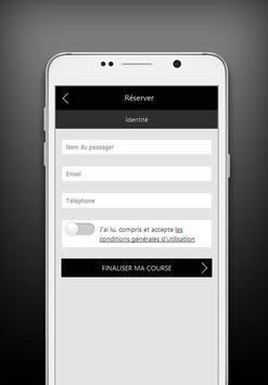Exclusivecab chauffeur privé apk screenshot