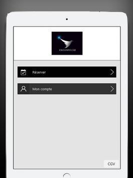 Exclusivecab chauffeur privé screenshot 5