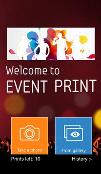 Event Print poster