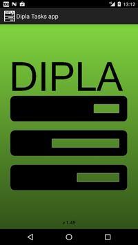 DIPLA Opdrachtenbeheer poster