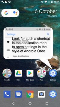Oreo UI screenshot 3