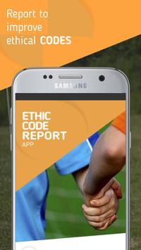 Ethics App poster
