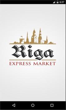 Riga Market poster
