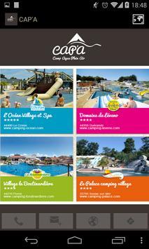 CAP'A Campings côte Atlantique poster