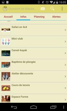 Domaine de Massereau apk screenshot