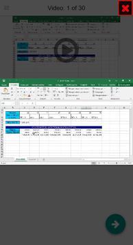 MOS Excel 2016 Core & Expert Tutorial Videos apk screenshot