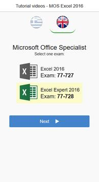 MOS Excel 2016 Core & Expert Tutorial Videos poster