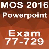 MOS Powerpoint 2016 Core Tutorial Videos icon