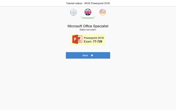 MOS Powerpoint 2016 Core Tutorial Videos screenshot 4