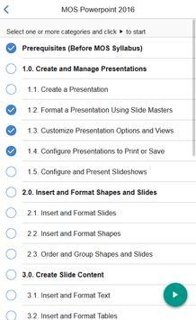 MOS Powerpoint 2016 Core Tutorial Videos screenshot 1
