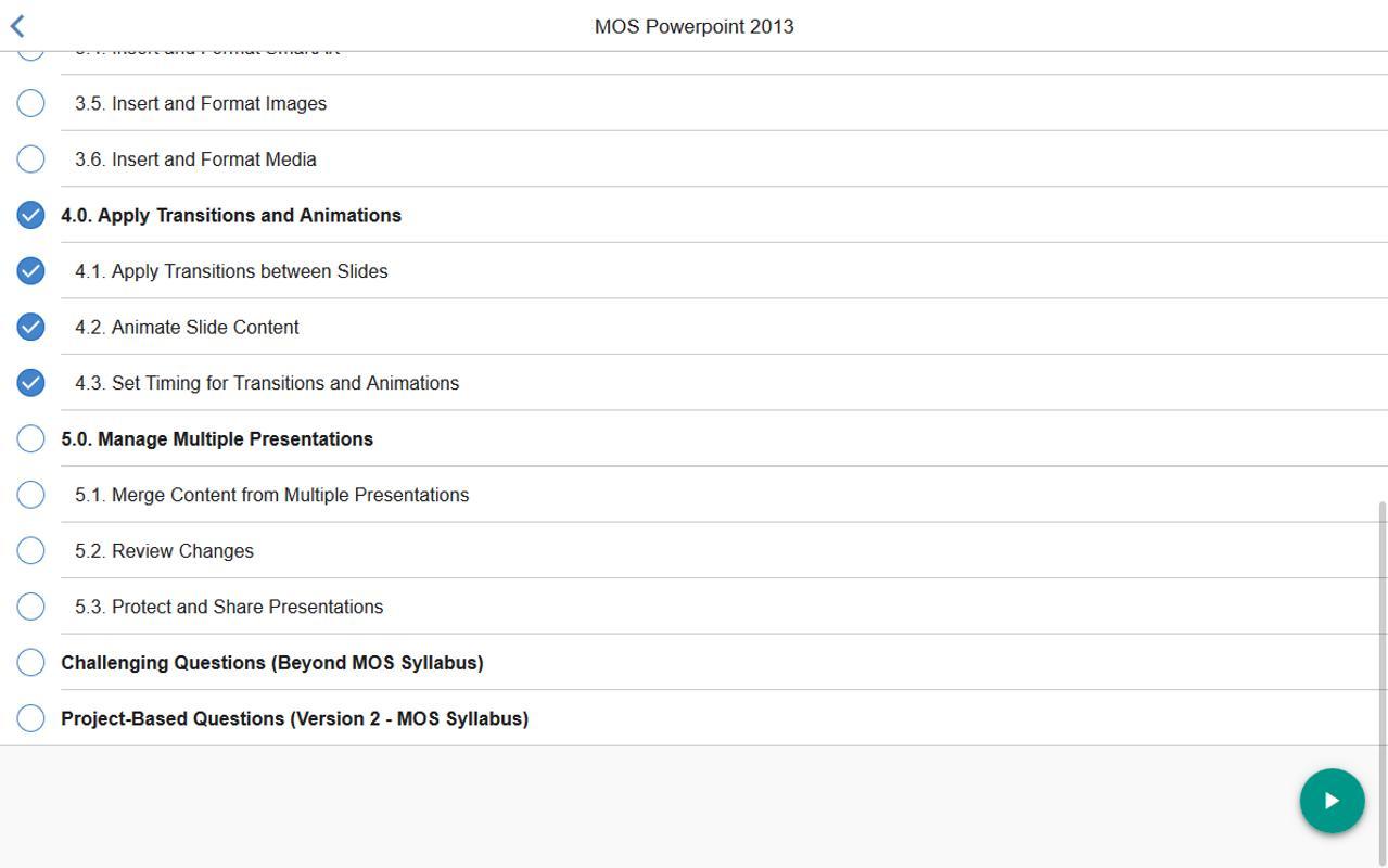 mos powerpoint 2013 core tutorial videos descarga apk gratis