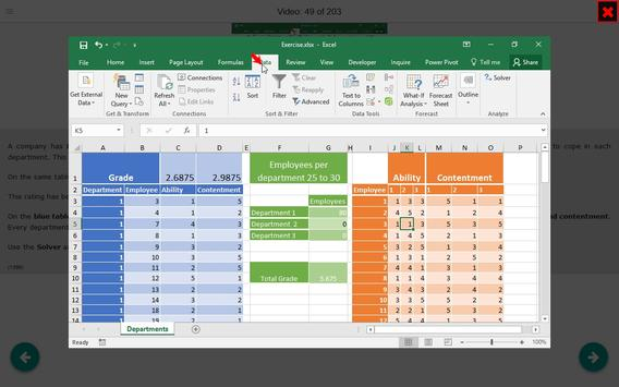 Data Analysis with Excel Tutorial (how-to) Videos screenshot 11