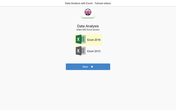 Data Analysis with Excel Tutorial (how-to) Videos apk screenshot