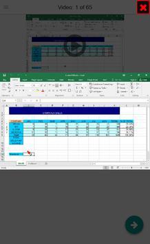 Excel EXPERT Tutorial (how-to) Videos screenshot 3