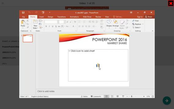 Powerpoint EXPERT Tutorial (how-to) Videos apk screenshot