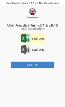 UBER Analytics Test v3.1 & v6.16 Tutorial Videos poster