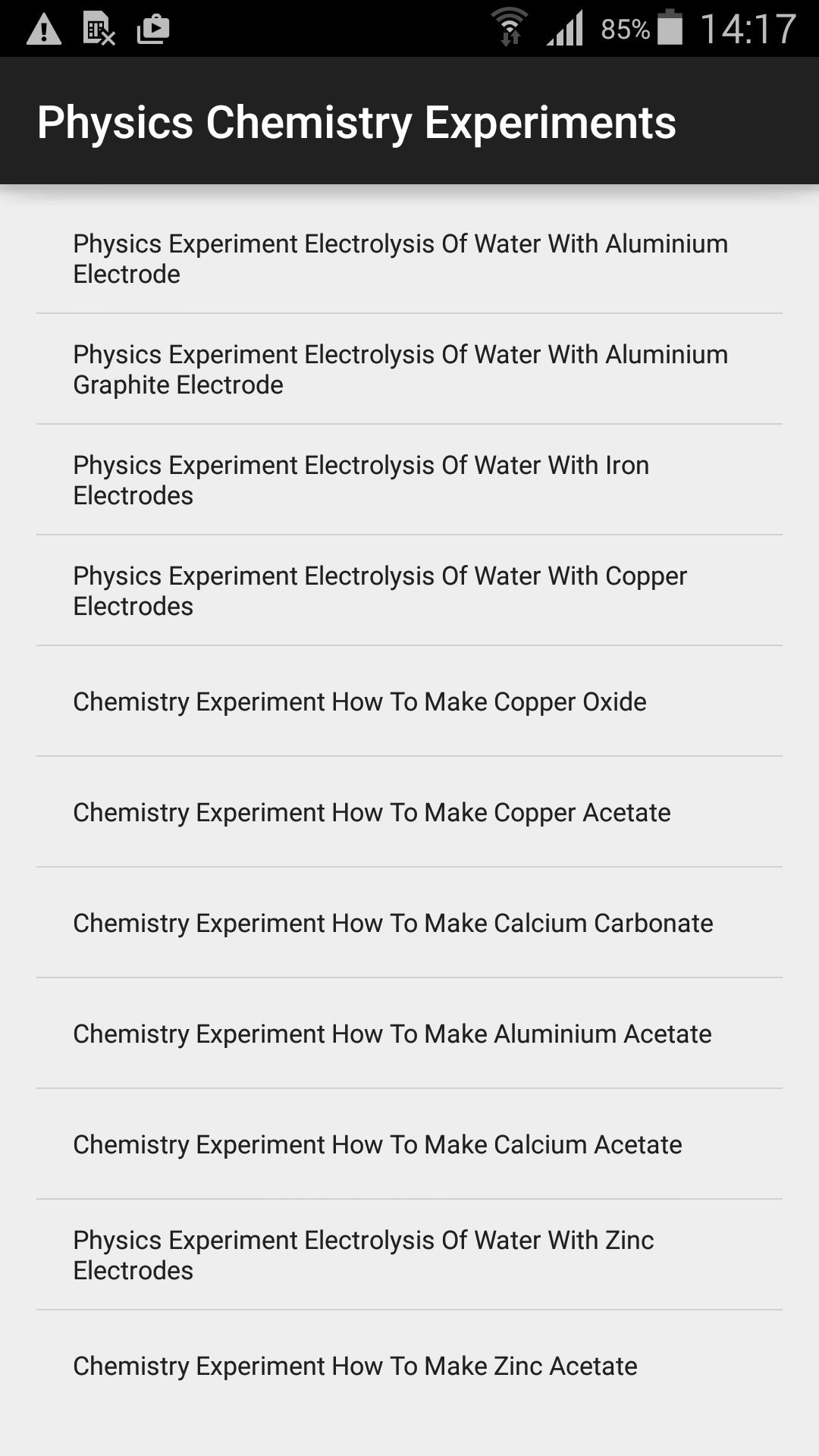 Physics Chemistry Experiments for Android - APK Download