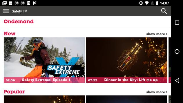 Safety TV screenshot 1