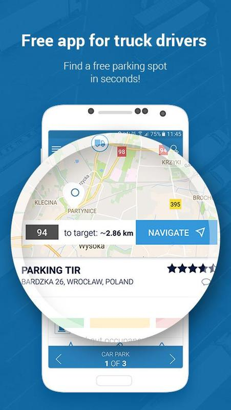 Truck parking - TransParking for Android - APK Download