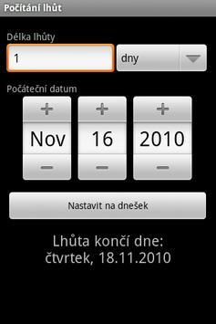 Pocitani lhut screenshot 1