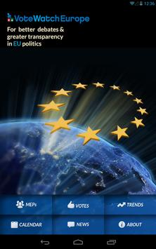 VoteWatch Europe poster