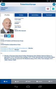 VoteWatch Europe screenshot 2