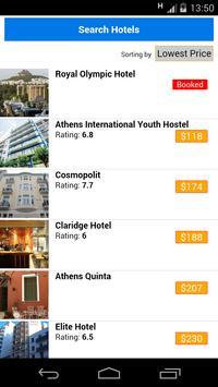 Athens Hotels apk screenshot