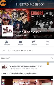 EuropaLatinMusic apk screenshot