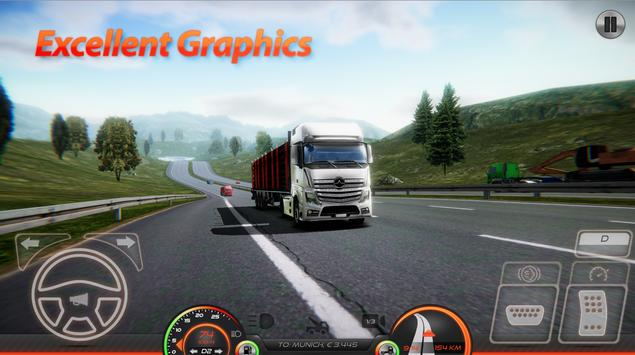 Truck Simulator : Europe 2 plakat