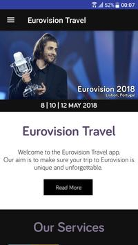 Eurovision Travel - Eurovision 2018 Travel Guide poster
