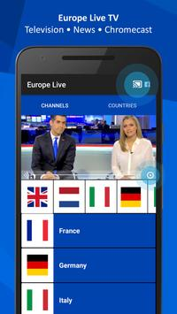 Europe Live TV poster